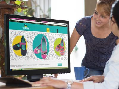Chooze Shoes Web Development