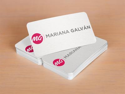 Mariana Galván Logo