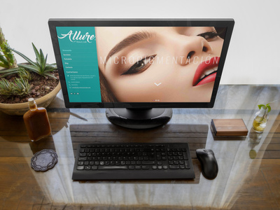 Allure Beauty Lab Web